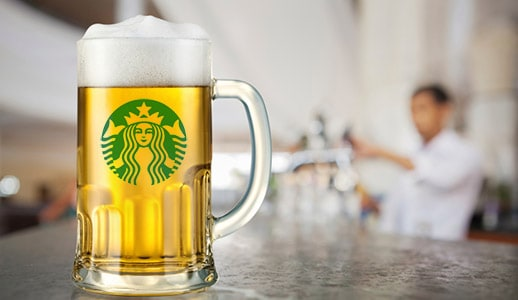 starbucks beer