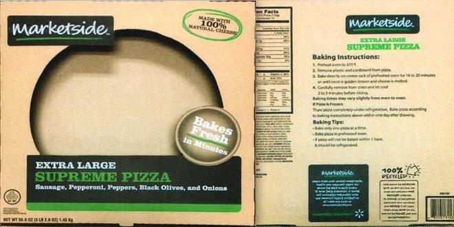 frozen pizza- pizza congelada