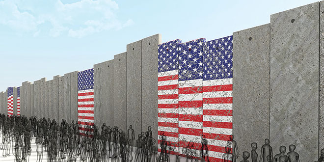 immigration Wall-muro