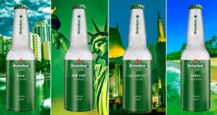 Heineken Aluminum Bottle