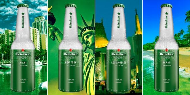 Heineken Aluminum Bottle