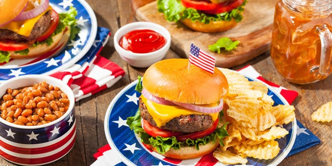 What are the biggest sellers on the fourth of july? - productos más vendidos