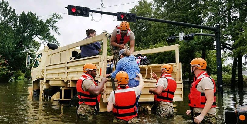 Hurricane Harvey, Huracán Harvey