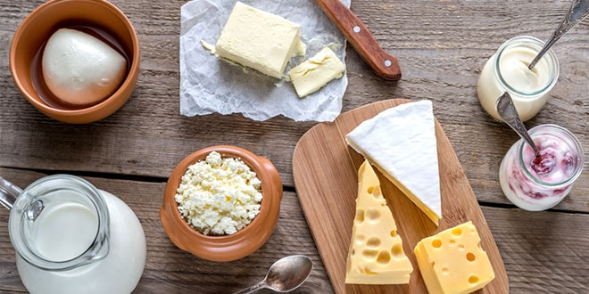 producción de lácteos-food production