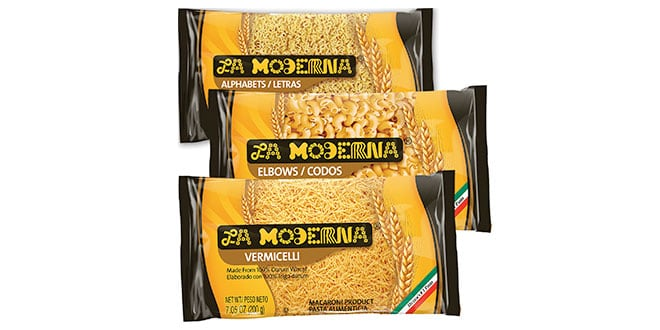La moderna brings pasta to thousands around the world abasto for Agenzia la moderna