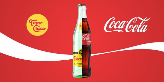 agua mineral mexicana topo chico - mineral water - coca-cola