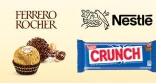 Ferrero - Nestle - dulces - candy