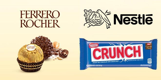 FERRERO BUYS NESTLÉ'S CANDY BUSINESS IN THE U.S. FOR $ 2.8 BILLION