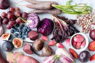 ultra violet food - alimentos ultra violeta