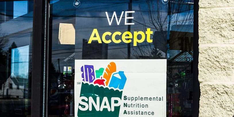 food stamps - tiendas