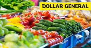 Dollar General vegetales frescos - fresh produce