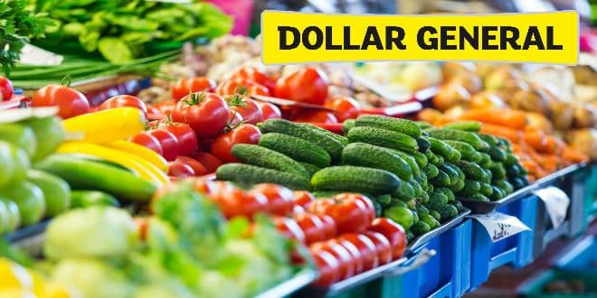 Dollar General vegetales frescos - fresh produce