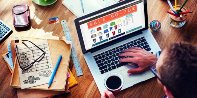 minorista en línea, taxes