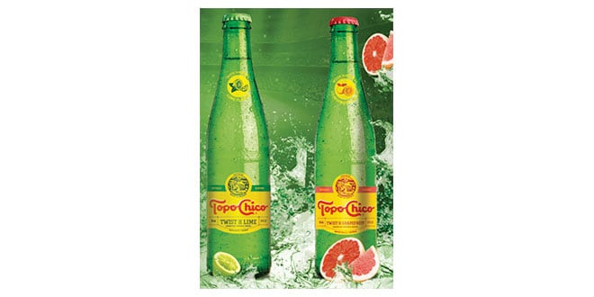 Topo Chico Twist of Lime y Twist of Grapefruit, Topo Chico Twist of Lime and Twist of Grapefruit