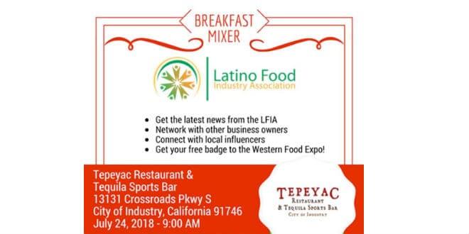Breakfast Mixer Latino Food Industry