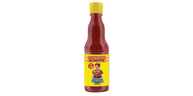 salsas-anita-achiote