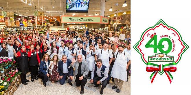 Northgate González Market 40 anniversary - 40 aniversario