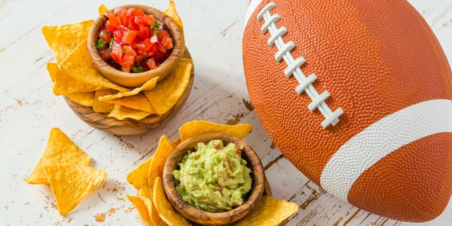 Super Bowl celebration food and snacks - Celebración del Super Bowl