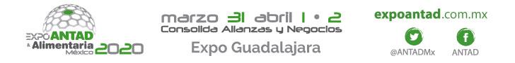 Expo ANTAD & Alimentaria Mexico 2020