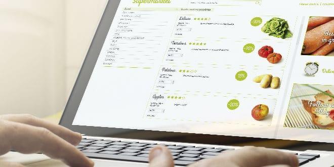 online grocery - ventas online