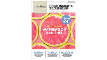 United Fresh Releases Winter 2020 Fresh Insights for Foodservice