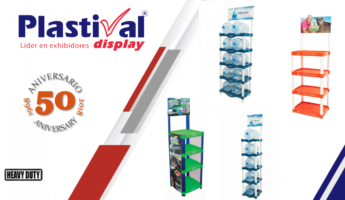 Plastival Display: Plastic Display Racks for Your Store