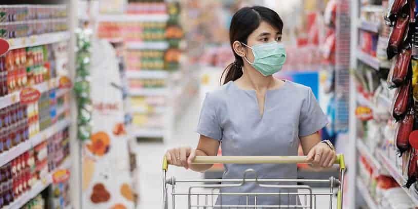 los supermercados coronavirus - the supermarkets