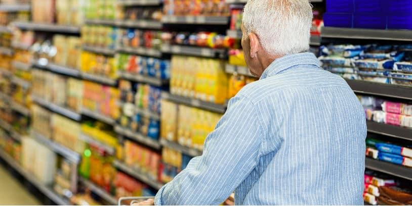 coronavirus supermarkets ederly seniors - supermercados tercera edad