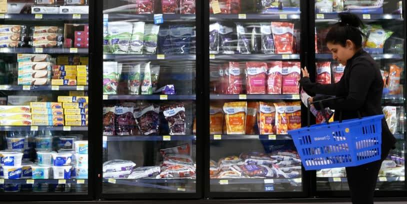 alimentos congelados - frozen food