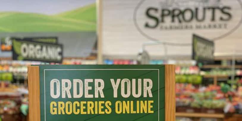 sprouts grocery pickup - recogida de la compra