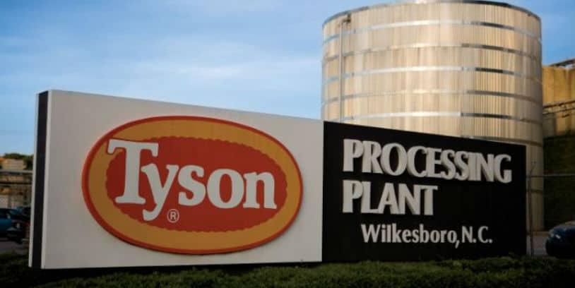 Tyson chicken-processing plant - planta procesadora de pollos Tyson