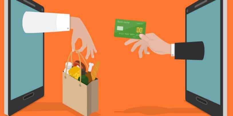 online grocery sales - venta de comestibles en línea