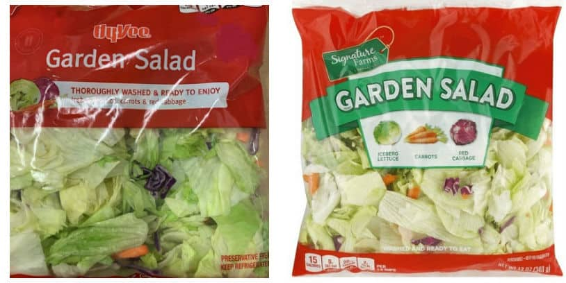 cyclospora salad recall - retiro del mercado de ensalada