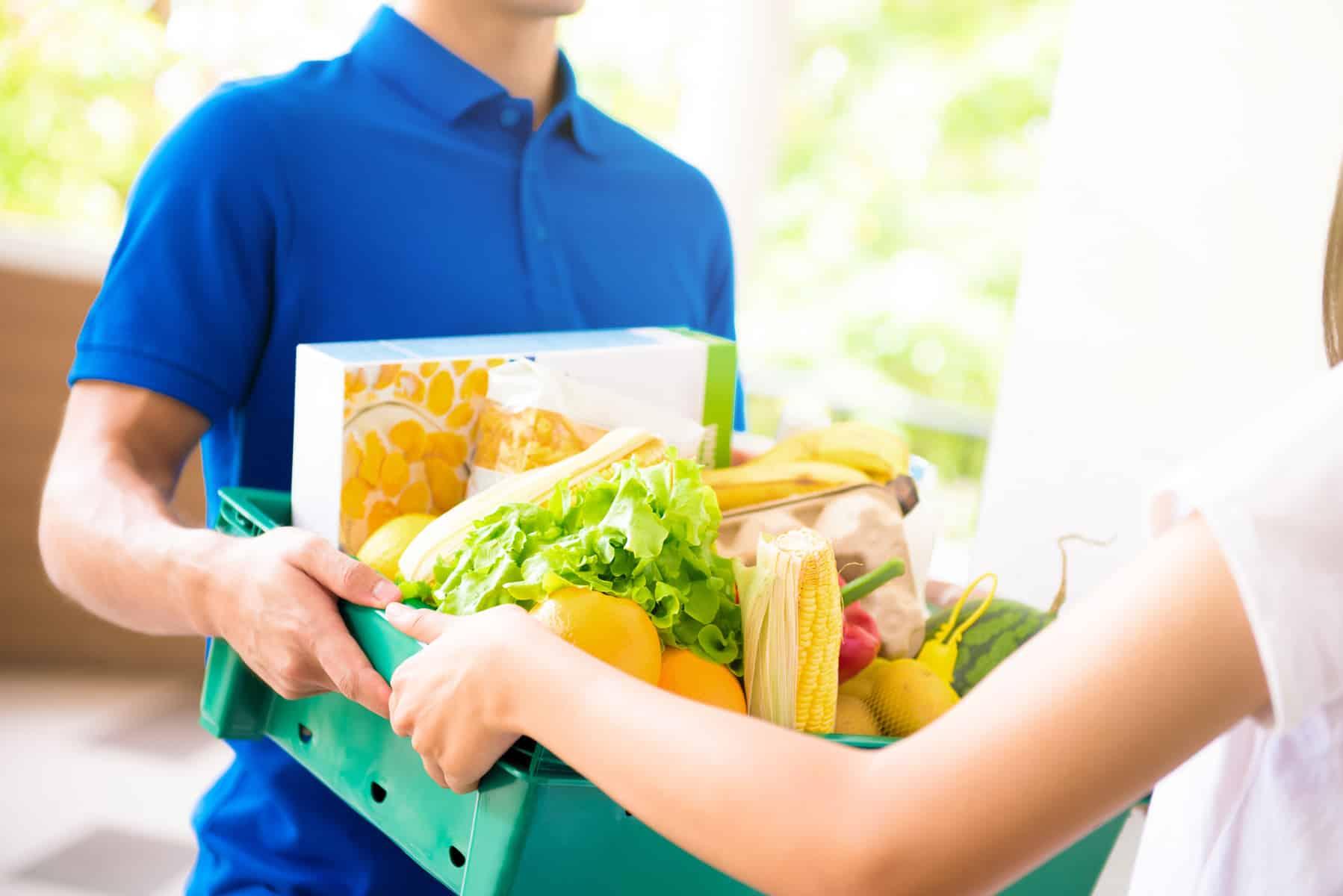 ventas de comestibles en línea - online grocery sales