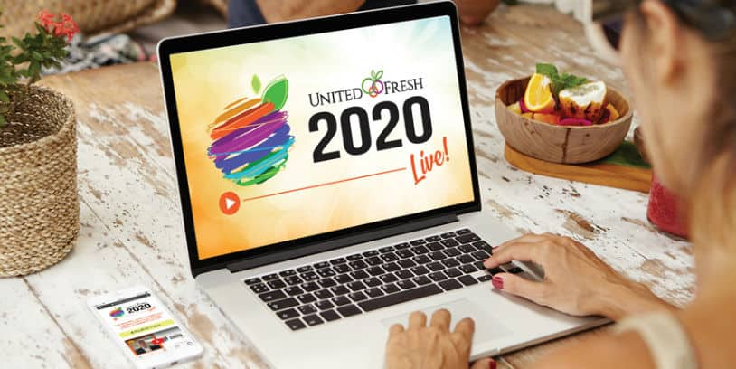 virtual trade show United Fresh Live - feria comercial virtual