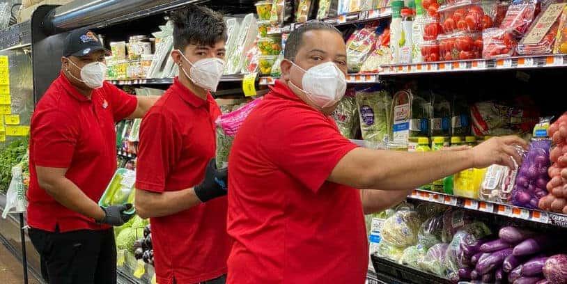 Our heroes Hispanic heritage - héroes de los supermercados