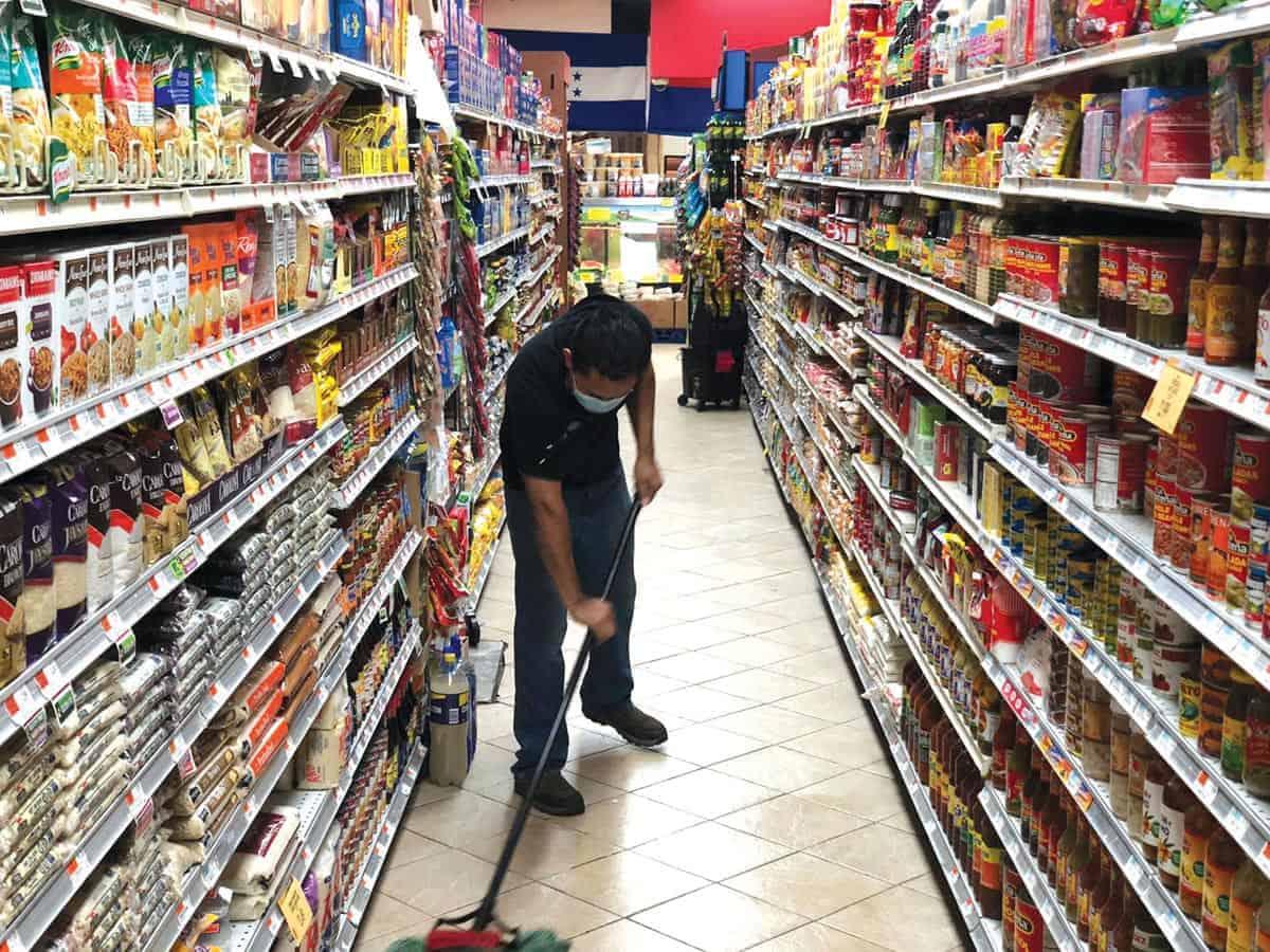 h[eroes de los supermercados