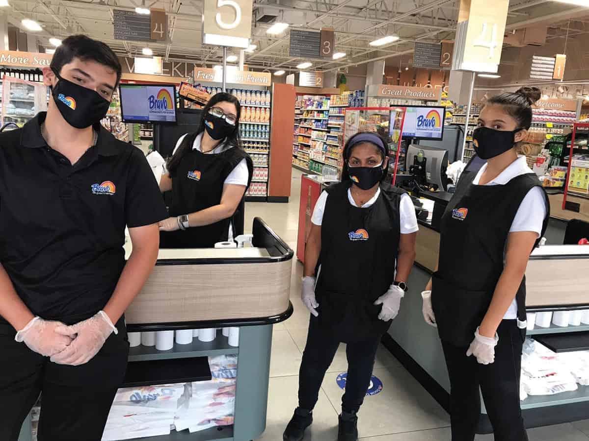 héroes de los supermercados
