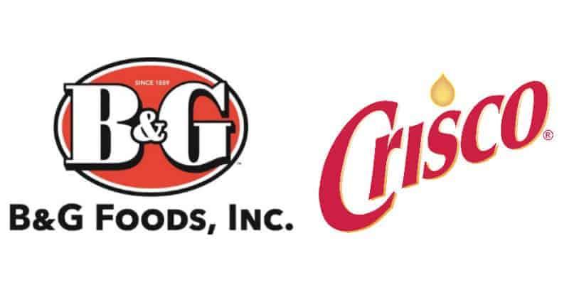 B&G Foods Crisco