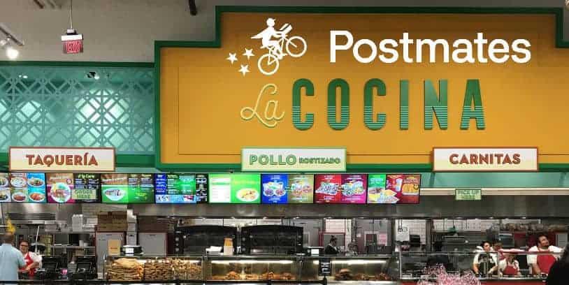 Vallarta Supermarkets Postmates delivery service - entrega a domicilio