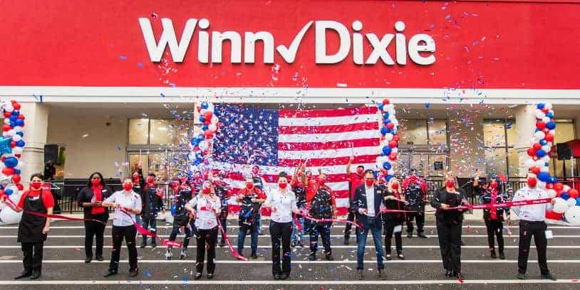 Winn-Dixie Opens four supermarkets