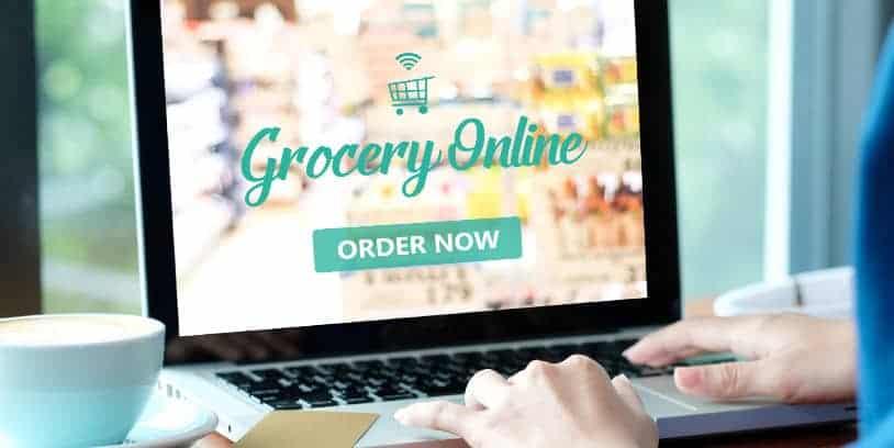 online grocery sales - ventas de comestibles en línea