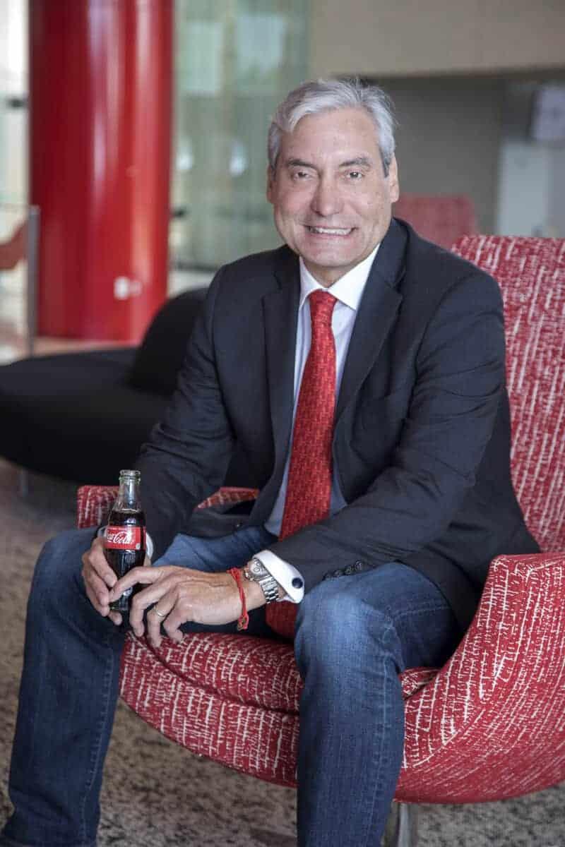 Alfredo Rivera presidente de Coca-Cola Norteamérica