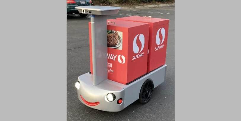 Albertons delivery cart - carro de reparto