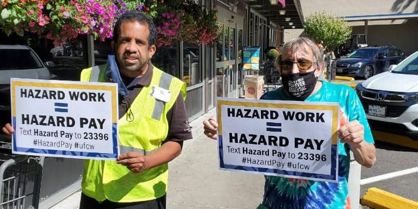 hazard pay Seattle -pago por riesgo
