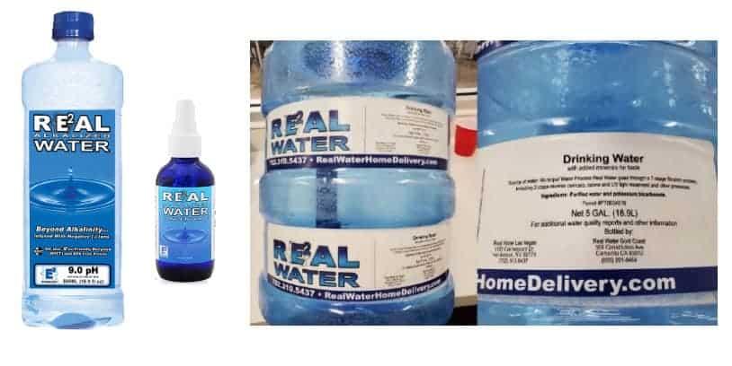 recall Real Water - retiro del mercado