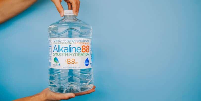 Alkaline Water - agua alcalina