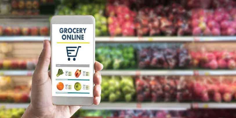 The online grocery sales - ventas de comestibles en línea