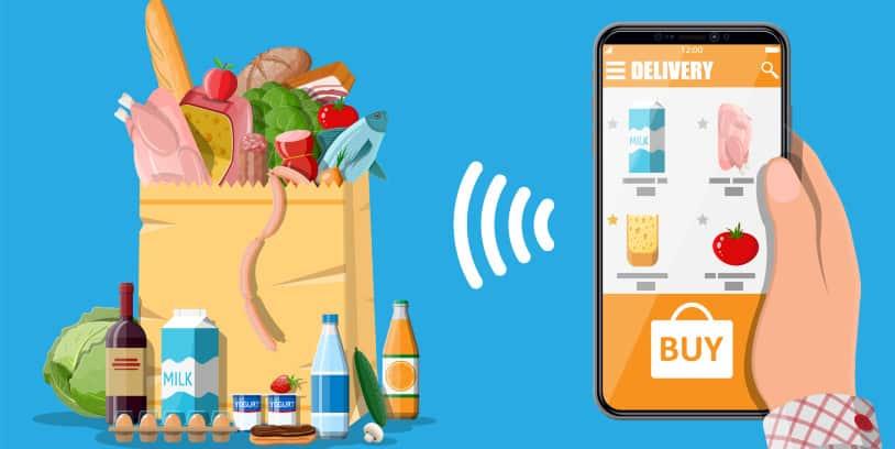 U.S. Online Grocery Sales - ventas de comestibles en línea