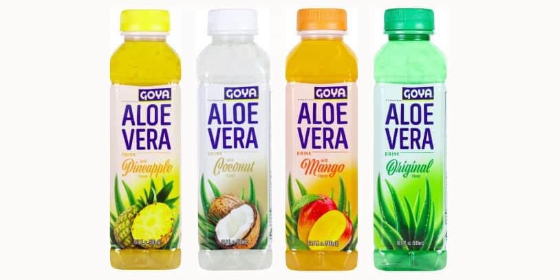 Bebidas Goya de Aloe Vera